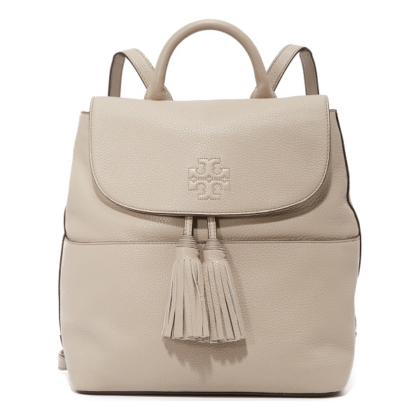 TORY BURCH thea backpack - A sophisticated Tory Burch backpack with decorative