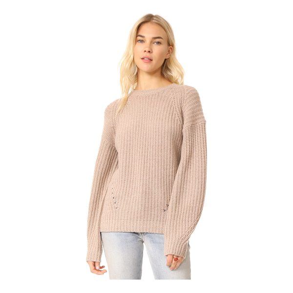 TSE CASHMERE x claudia schiffer long sleeve pullover - A collaboration between model Claudia Schiffer and TSE...