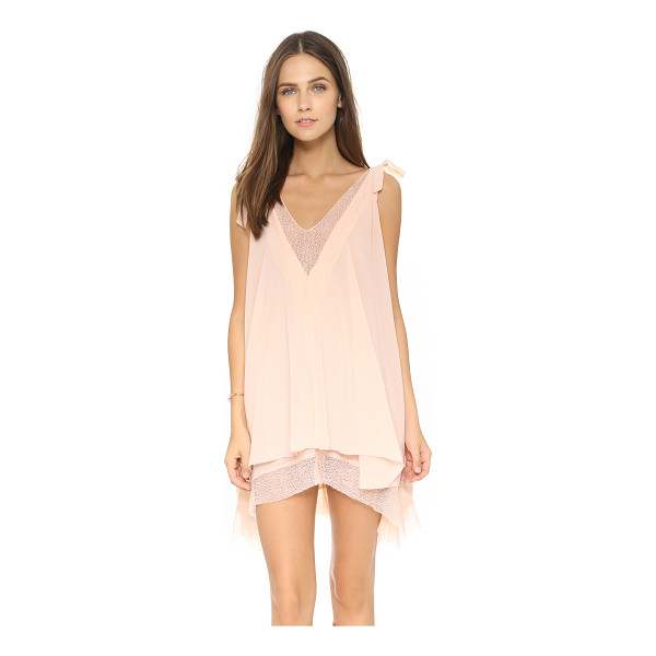 TULAROSA Veda dress - Layers of airy chiffon lend an ethereal feel to this...