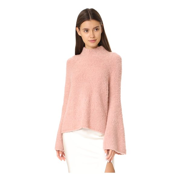 ULLA JOHNSON amina turtleneck - This cozy bouclé knit Ulla Johnson turtleneck sweater has a...