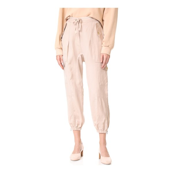 ULLA JOHNSON edris pants - These lightweight Ulla Johnson cargo pants have a long rise...