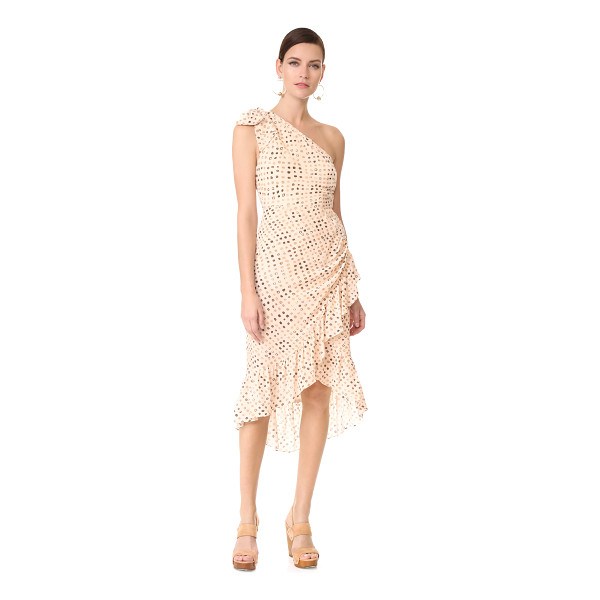 ULLA JOHNSON imogen dress - A batik-like dot pattern lends an eclectic touch to this...