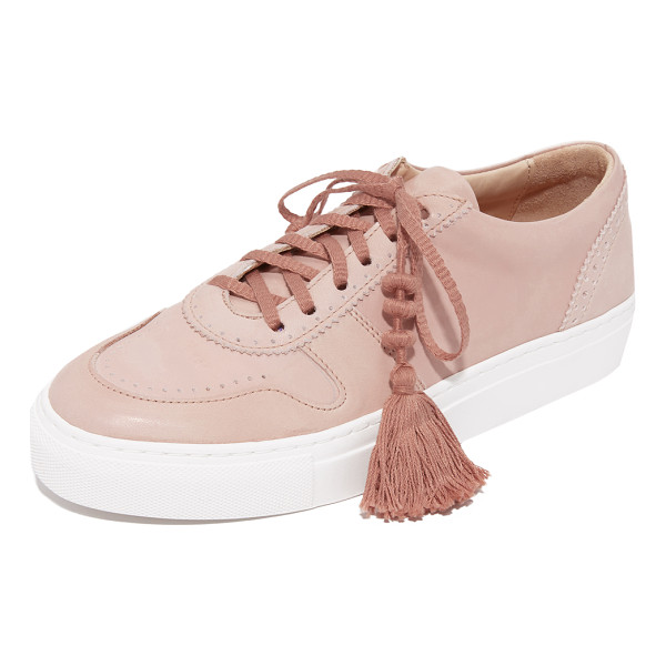 ULLA JOHNSON kai sneakers - These supple Ulla Johnson sneakers gain an elevated look...