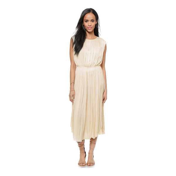 ULLA JOHNSON Lily dress - Allover pleats create gentle dimension on this sleeveless...