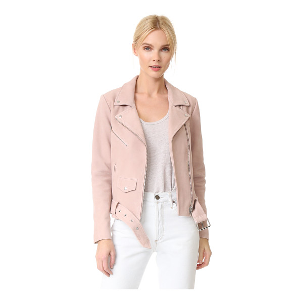 VEDA jayne suede jacket - A VEDA moto jacket feels fresh and feminine, composed of...
