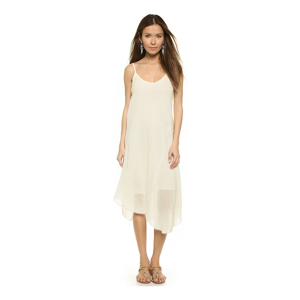 VELVET Odalis gauze dress - An airy Velvet dress in soft gauze, styled with a raw...