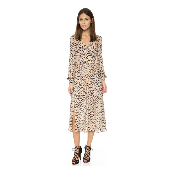 VERONICA BEARD Brenton midi dress - An airy silk Veronica Beard midi dress in an abstract...