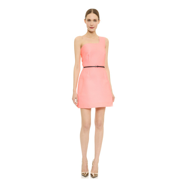 VICTORIA BY VICTORIA BECKHAM One shoulder honeycomb dress - Description NOTE: Sizes listed are UK. Please see Size &...