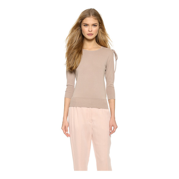 VIKTOR & ROLF Long sleeve sweater - Braid detailing effects the look of a lace up closure on...