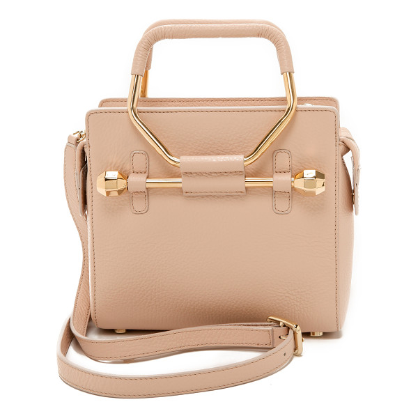 VIKTOR & ROLF Mini bombette bag - This petite, wrinkled leather VIKTOR & ROLF handbag is