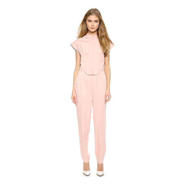 VIKTOR & ROLF Short sleeve jumpsuit - A charming VIKTOR & ROLF jumpsuit with a scalloped, button...