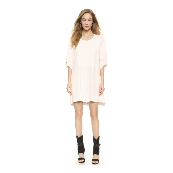 VIKTOR & ROLF Short sleeve romper - An exaggerated silhouette puts a modern spin on a striking...