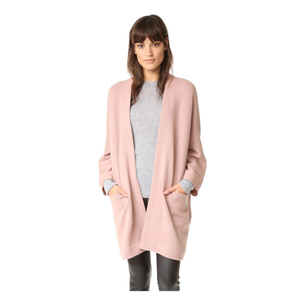 VINCE Blanket cashmere sweater - A loose Vince cardigan composed of soft cashmere and styled...