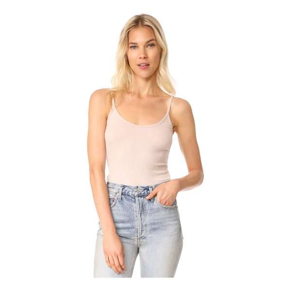 VINCE cami thong bodysuit - This ribbed jersey Vince bodysuit has a tank profile. Lined...