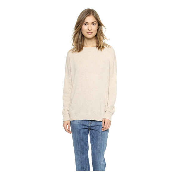 VINCE Cashmere pullover - Fine knit cashmere brings a luxurious feel to this...