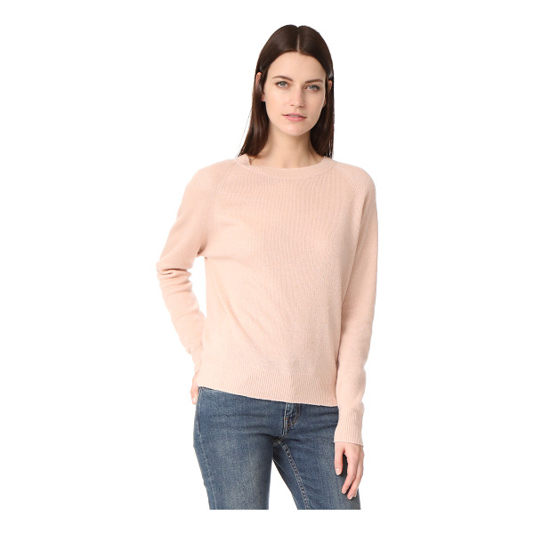VINCE crew neck pullover - A slouchy Vince pullover sweater in a luxe blend of...