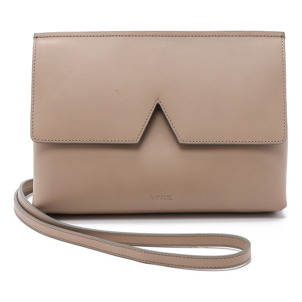 VINCE Cross body bag - This sleek Vince cross body bag exemplifies minimalist