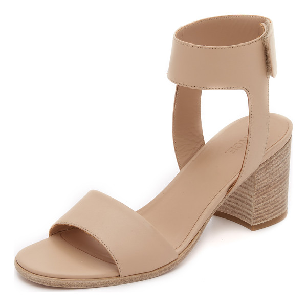 VINCE Josslyn city sandals - Smooth leather composes these streamlined Vince sandals....