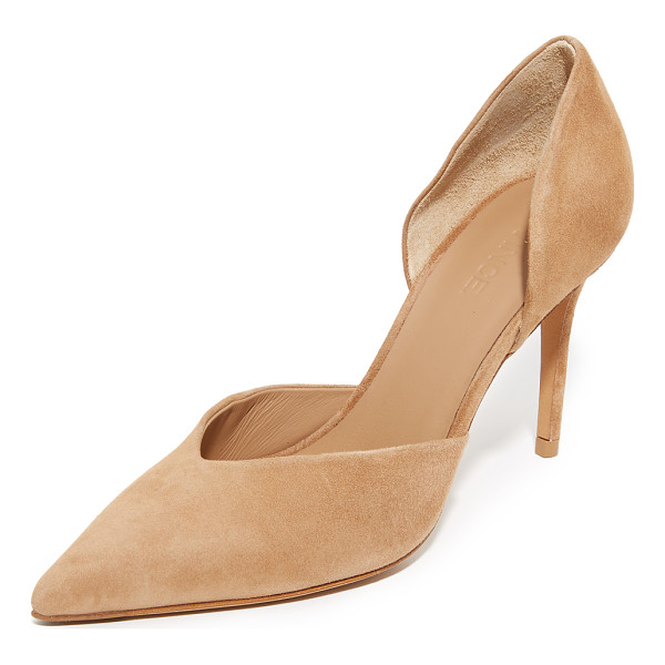 VINCE Paulette Pumps - Luxe suede Vince pumps in a refined, pointed toe profile.