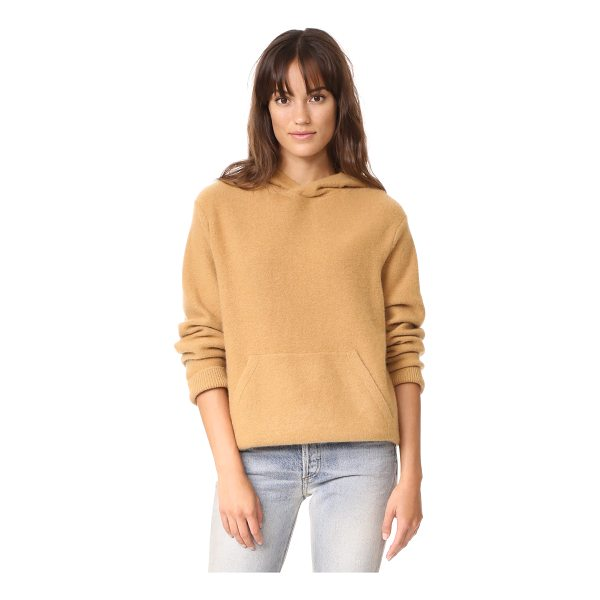 VINCE pullover cashmere hoodie - This luxurious cashmere Vince hoodie feels extra cozy with...