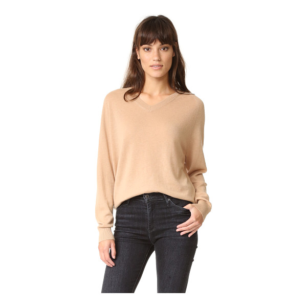 VINCE relaxed cashmere sweater - A fine gauge Vince sweater with a relaxed fit. V neckline...