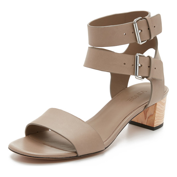 VINCE ria city sandals - Smooth leather straps compose these sophisticated Vince