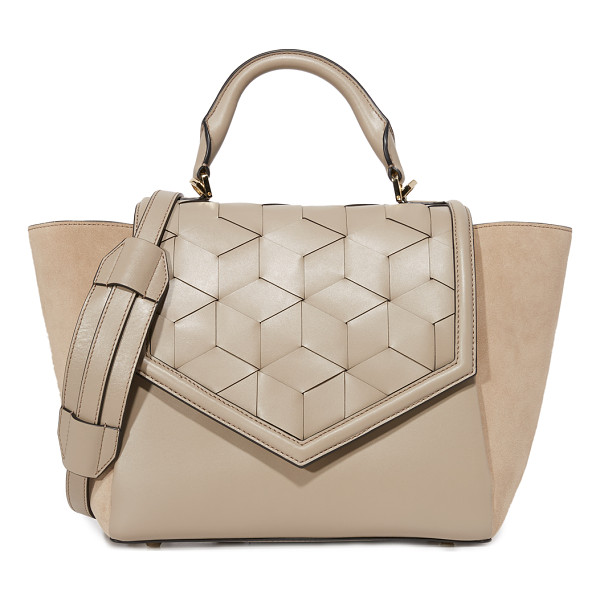 WELDEN saunter flap satchel - A structured Welden satchel in smooth leather. A hidden
