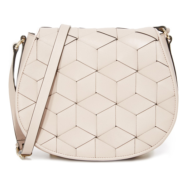 WELDEN escapade saddle bag - A structured Welden bag composed of woven leather. The