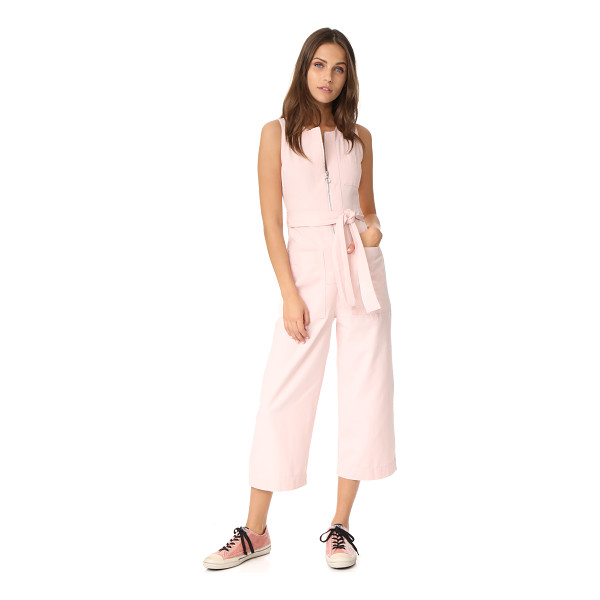 WHISTLES alex tie jumpsuit - NOTE: Sizes listed are UK. A pastel hue softens the...