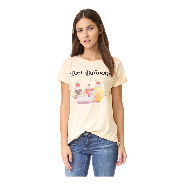 WILDFOX diet dropout sweater - A retro inspired ice cream sundae graphic and 'Diet...