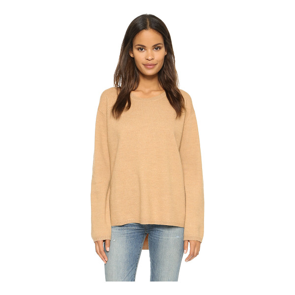 WON HUNDRED Coral sweater - A loose, boxy Won Hundred sweater in plush merino wool. The...