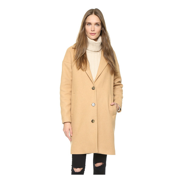 WON HUNDRED Key wool coat - An oversized Won Hundred coat in a plush wool blend....