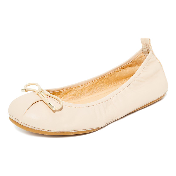 YOSI SAMRA sheila ballet flats - Packable Yosi Samra ballet flats accented with a slim bow...