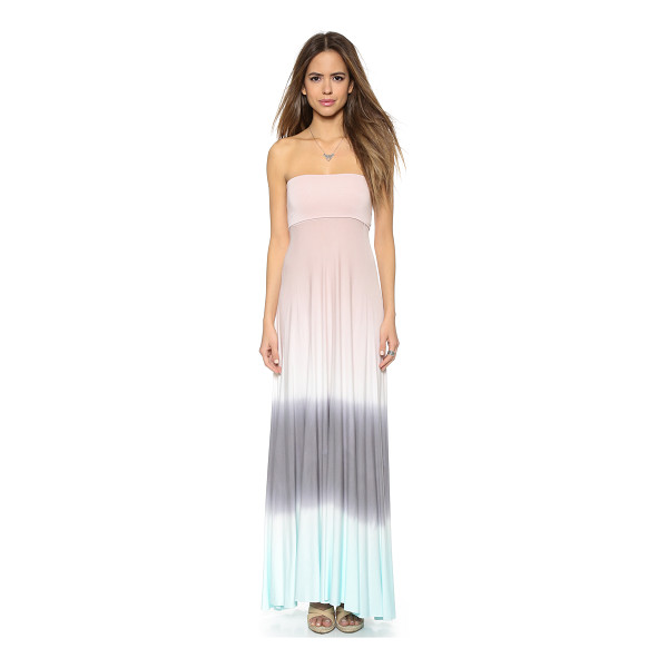 YOUNG FABULOUS & BROKE Bangal convertible maxi dress - A strapless Young Fabulous & Broke maxi dress with an ombré...