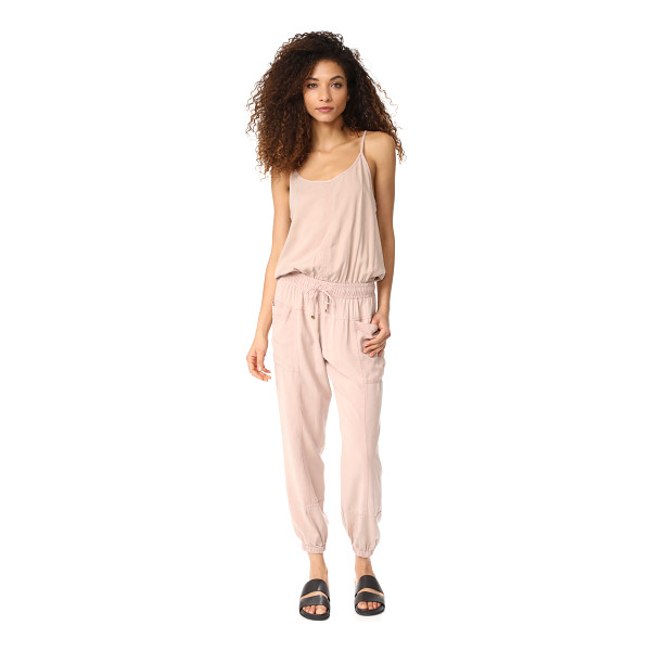 YOUNG FABULOUS & BROKE yfb clothing iver jumpsuit - A utilitarian-inspired Young Fabulous & Broke jumpsuit with...