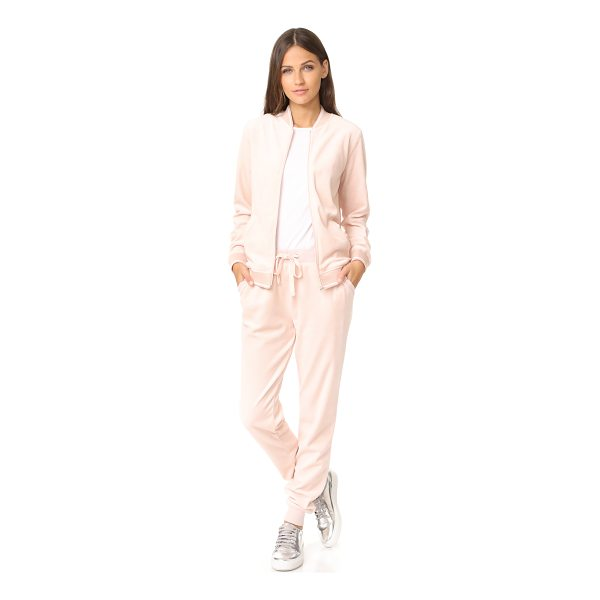 Z SUPPLY the bomber set - Exclusive to Shopbop. This luxe velour Z Supply track suit...