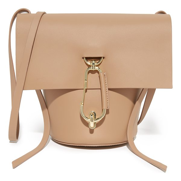 ZAC ZAC POSEN belay cross body bag - A polished carabiner at the turn-lock top flap adds a...