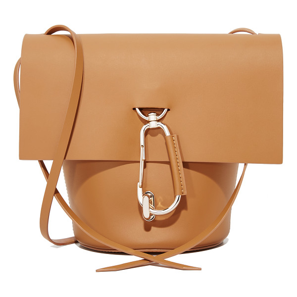 ZAC ZAC POSEN belay cross body bag - Polished carabiners add a sporty feel to this structured