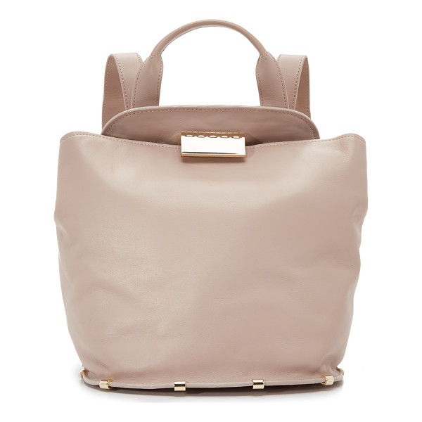 ZAC ZAC POSEN Blythe backpack - A structured ZAC Zac Posen backpack cut from smooth