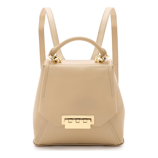 ZAC ZAC POSEN Eartha envelope backpack - A scaled down ZAC Zac Posen backpack in smooth leather. A