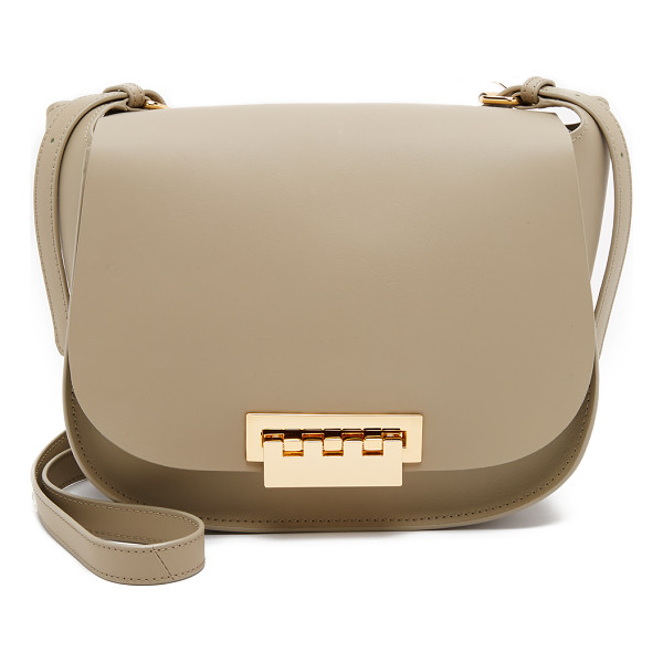 ZAC ZAC POSEN Eartha saddle bag - A large ZAC Zac Posen saddle bag in smooth leather. A logo
