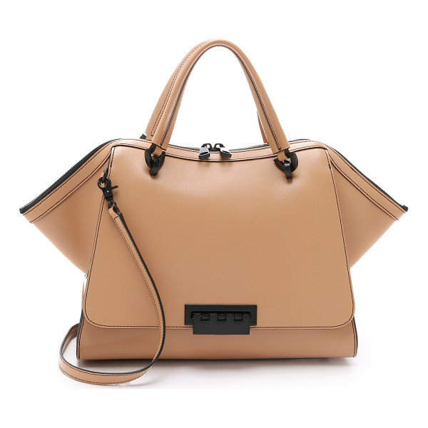 ZAC ZAC POSEN Eartha soft double handle satchel - A large version of ZAC Zac Posen's signature Eartha bag. A
