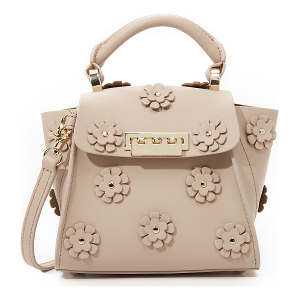 ZAC ZAC POSEN Embellished eartha top handle mini bag - A mini version of a ZAC Zac Posen bag, rendered in smooth