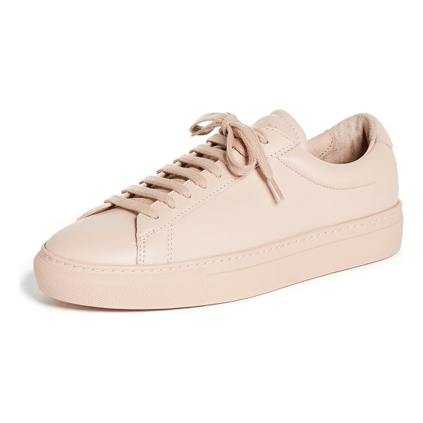 ZESPA lace up sneakers - Sporty Zespa sneakers crafted in rich, smooth leather. Foil...