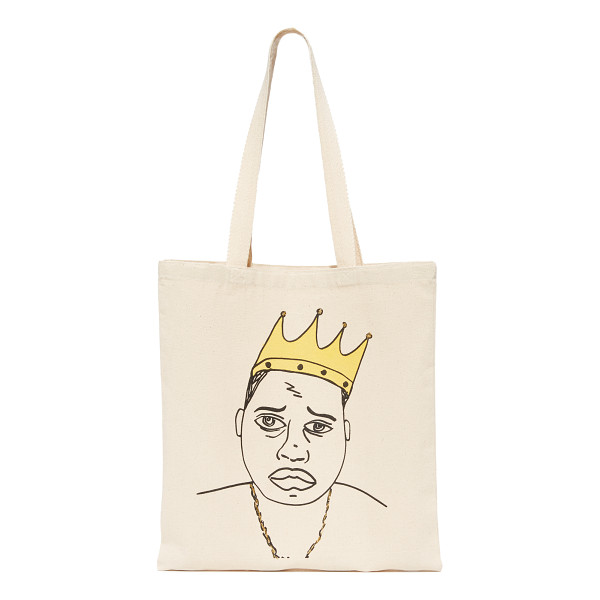 ZHUU biggie tote - A lightweight Zhuu tote styled with a pen-line drawing of...