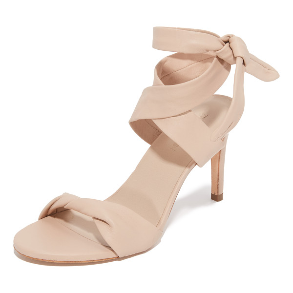 ZIMMERMANN ankle tie heels - Leather ankle ties lend unexpected elegance to these