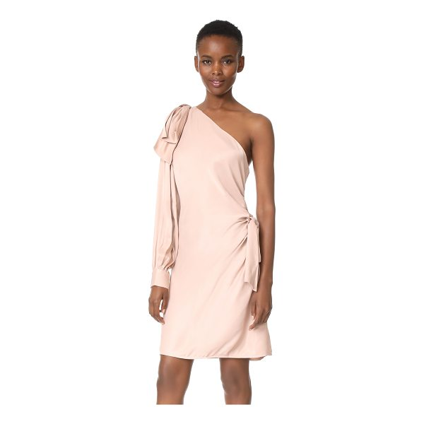 ZIMMERMANN bow mini dress - NOTE: Zimmermann uses special sizing. A soft satin...