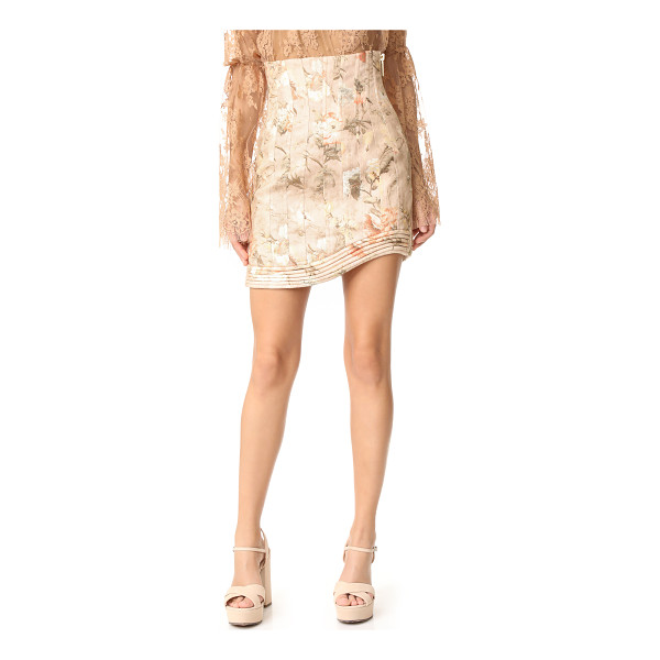 ZIMMERMANN bowerbird corselet skirt - NOTE: Zimmermann uses special sizing. Please see Size & Fit...