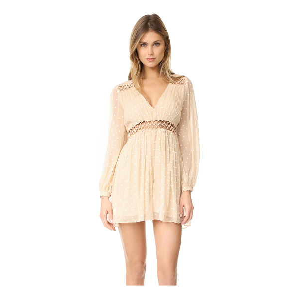 ZIMMERMANN bowerbrid empire playsuit - NOTE: Zimmermann uses special sizing. Embroidered polka...