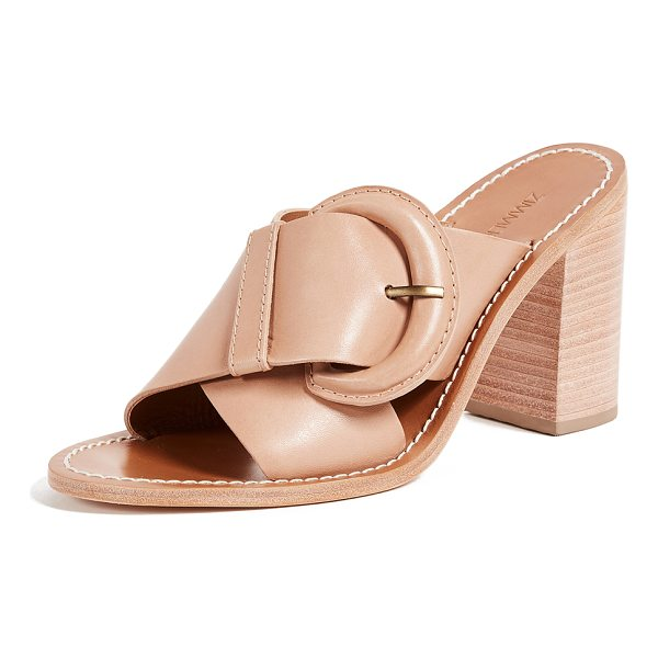 ZIMMERMANN buckled mules - Charming Zimmermann mules with wide straps and a covered...